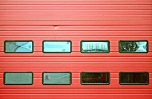 plastic garage door